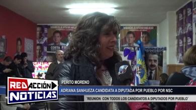 Photo of Redacción Noticias    ADRIANA SANHUEZA CAND. A DIP. POR PUEBLO DE PERITO MORENO – LAS HERAS SANTA CRUZ