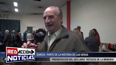 Photo of Redacción Noticias |  GARCIA PARTE DE LOS ANTIGUOS POBLADORES – LAS HERAS SANTA CRUZ