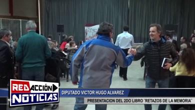 Photo of Redacción Noticias |  VICTOR H. ALVAREZ TAMBIEN PRESENTE EN LA EXPOSICION DEL 2DO LIBRO ¨RETAZOS DE LA MEMORIA¨