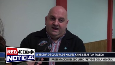 Photo of Redacción Noticias |  DIRECTOR DE CULTURA DE KOLUEL KAIKE – EXPOSICION DE 2DO LIBRO ¨RETAZOS DE UNA MEMORIA¨