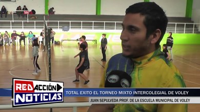 Photo of Redacción Noticias |  TORNEO DE VOLEY MIXTO INTERCOLEGIAL – LAS HERAS SANTA CRUZ