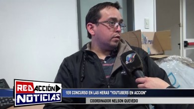 Photo of Redacción Noticias |  COORDINADOR NELSON QUEVEDO 1ER CONCURSO «YOUTUBERS EN ACCION»  LAS HERAS SNATA CRUZ