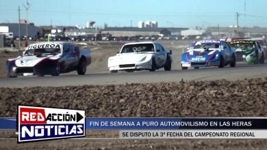 Photo of Redacción Noticias |  ASI SE VIVIO EL AUTOMOVILISMO REGIONAL EN LAS HERAS SANTA CRUZ