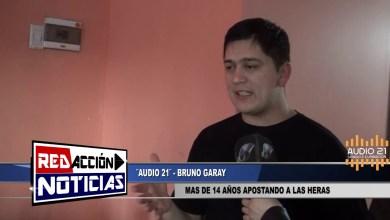 Photo of Redacción Noticias |  «AUDIO 21» BRUNO GARAY EL ESFUERZO DE MAS DE 14 AÑOS EN LAS HERAS SANTA CRUZ (PARTE 1)