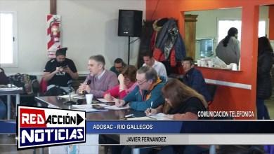 Photo of Redacción Noticias |  LAS HERAS SANTA CRUZ – COMUNICACION TELEFONICA CON JAVIER FERNANDEZ  – ADOSAC
