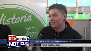 Photo of Redacción Noticias |  1ER CAMPEONATO DE FREESTYLE – LAS HERAS SANTA CRUZ 1/2