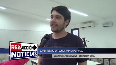 Photo of Redacción Noticias |  SEBASTIAN SILVA 2DO EGRESADO EN TECNICATURA EN PETROLEO LAS HERAS SANTA CRUZ