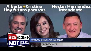Photo of Redacción Noticias |  PABLO MALDONADO CANDIDATO A CONCEJAL – LAS HERAS SANTA CRUZ