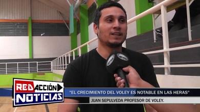 Photo of Redacción Noticias |  EL CRECIMIENTO DEL VÓLEY – JUAN SEPULVEDA – LAS HERAS SANTA CRUZ