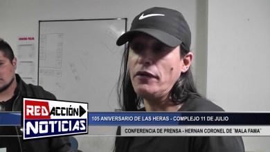 Photo of Redacción Noticias |  HERNAN CORONEL DE ¨MALA FAMA¨ – LAS HERAS SANTA CRUZ