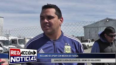 Photo of Redacción Noticias |  QUEMA DE CUBIERTAS EN RECLAMO POR UPSAP VIGILADORES – LAS HERAS SANTA CRUZ