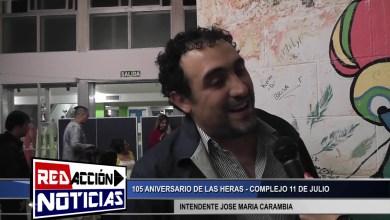Photo of Redacción Noticias |  JOSE MARIA CARAMBIA INTENDENTE – FIESTA DEL PUEBLO 2019 – LAS HERAS SANTA CRUZ