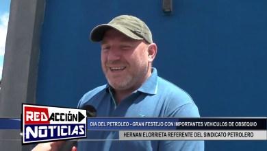 Photo of Redacción Noticias |  CONCEJAL MONTERO Y EDUARDO COLABORADORES EN EL AGASAJO DEL DIA DEL PETROLEO – LAS HERAS SANTA CRUZ