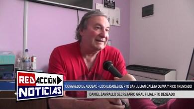 Photo of Redacción Noticias |  DANIEL ZAMPALLO SECRETARIO GENERAL FILIAL DE PUERTO DESEADO – LAS HERAS SANTA CRUZ
