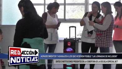 Photo of Redacción Noticias |  AGRADECIMIENTOS Y AGASAJOS A LOS QUE HICIERON POSIBLE LAS JORNADAS DE INCLUSION-LAS HERAS SANTA CRUZ