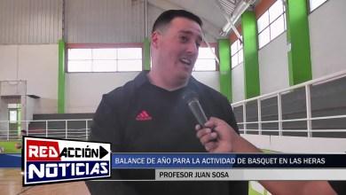 Photo of Redacción Noticias |  JUAN SOSA BASQUET – BALANCE DE AÑO PARA LA ACTIVIDAD DE BASQUET EN LAS HERAS SANTA CRUZ