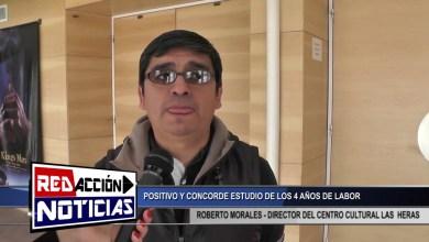 Photo of Redacción Noticias    ROBERTO MORALES – DIRECTOR DEL CENTRO CULTURAL LAS HERAS SANTA CRUZ