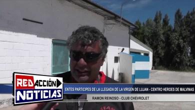 Photo of Redacción Noticias |  RICARDO SANZ REFERENTE DE ALACAS-RAMON REINOSO CLUB CHEVROLET LLEGADA DE VIRGEN LUJAN-LAS HERAS