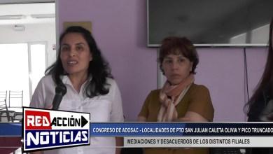 Photo of Redacción Noticias |  CONGRESO DE ADOSAC – DESACUERDOS DE DISTINTAS FILIALES – LAS HERAS SANTA CRUZ