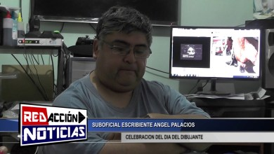 Photo of Redacción Noticias |  DIA DEL DIBUJANTE ANGEL PALACIOS – LAS HERAS SANTA CRUZ