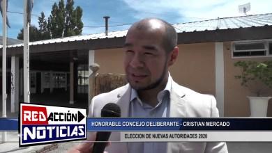 Photo of Redacción Noticias    ELECCION DE AUTORIDADES 2020 – CRISTIAN MERCADO – HCD – LAS HERAS SANTA CRUZ