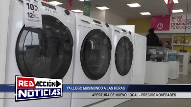 Photo of Redacción Noticias |  NUEVO LOCAL DE MUSIMUNDO EN LAS HERAS SANTA CRUZ