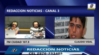 Photo of Redacción Noticias |  CLAUDIO VIDAL – LAS HERAS SANTA CRUZ
