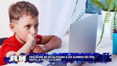 Photo of Redacción Noticias |  SIN CALIFICACIÓN HASTA LA VUELTA A CLASES – Las Heras Santa Cruz.