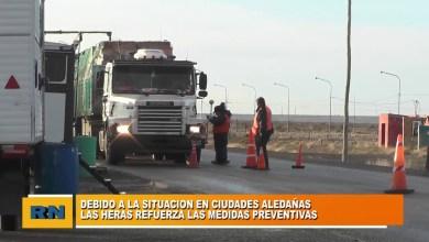 Photo of Redacción Noticias    Refuerzan entradas y salidas de Las Heras por la situacion de ciudades vecinas