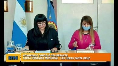 Photo of Redacción Noticias |  HCD Las Heras Santa Cruz: Tratamiento de la carta orgánica entre otros puntos