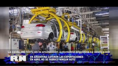 Photo of Redacción Noticias |  No se fabricaron autos en abril -Las Heras Santa Cruz.