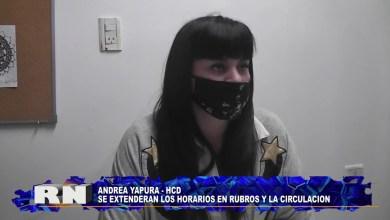 Photo of Redacción Noticias    concejal ANDREA YAPURA   HORARIOS NUEVOS – Las Heras Santa Cruz