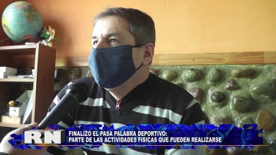 Photo of Redacción Noticias |  Dir. de Deporte Carlos FIGUEROA – Las Heras Santa Cruz