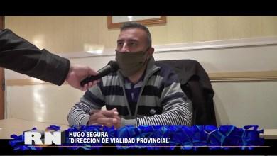 Photo of Redacción Noticias |  Hugo Segura Jefe de Vialidad-Las Heras Santa Cruz.