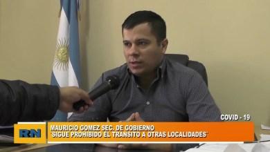 Photo of Redacción Noticias    Dr. Mauricio Gomez Sec. de Gobierno Municipal – Trabajos desde distintos  sectores la Municipalidad