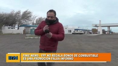 Photo of Redacción Noticias |  Fake news: YPF informo que no regala bonos de combustible en una promoción que circula en redes