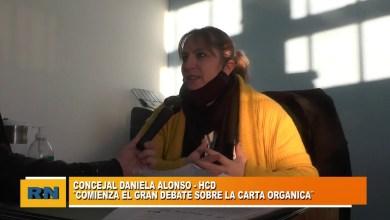 Photo of Redacción Noticias |  Concejal Daniela Alonso: «Debemos debatir conjuntamente con el pueblo el tema de la carta orgánica»