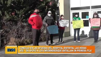 Photo of Redacción Noticias |  ATE – Hector Ampuero en apoyo a los enfermeros
