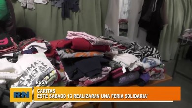 Photo of Redacción Noticias    Caritas Las Heras realizara una feria solidaria este fin de semana. Las Heras Santa Cruz