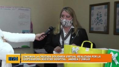 Photo of Redacción Noticias |  Continua la Cruzada Solidaria virtual de la Cooperadora Nuestro Hospital en Las Heras