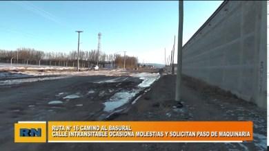 Photo of Redacción Noticias    Ruta 16 Camino al basural INTRANSITABLE!!! Vecinos molestos solicitan el paso de maquinas