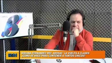 Photo of Redacción Noticias |  Bibiana Fernandez (ADOSAC) – Lo que tenemos que tener en cuenta en una posible vuelta a clases