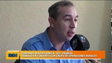 Photo of Redacción Noticias    Comisario Mimica: Trabajamos en conjunto con el grupo de operaciones rurales – Parte 2
