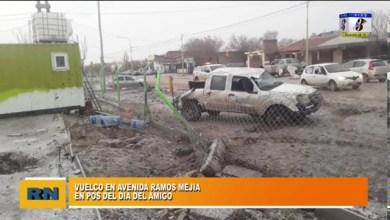 Photo of Redacción Noticias |  Accidente de transito (Vuelco) en Ramos Mejia pos Dia del amigo