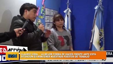 Photo of Redacción Noticias    Claudio Vidal y la situación actual del Sector Petrolero Santacruceño