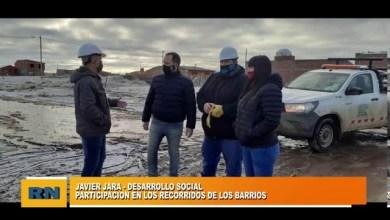 Photo of Redacción Noticias |  Javier jara participa en la recorrida de los barrios mas afectados de Las Heras