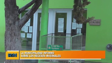 Photo of Redacción Noticias |  Receso invernal en la Municipalidad de Las Heras