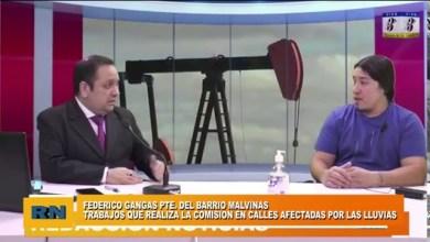 Photo of Redacción Noticias |  Federico Gangas Pte. del Barrio Malvinas – Trabajos que se realizan desde la comisión