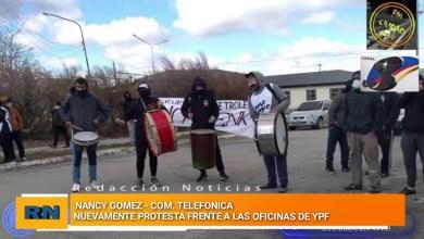 Photo of Redacción Noticias |  Reclamos y protestas frente a las oficinas de YPF – Com. Tel. con Nancy Gomez
