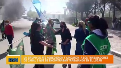 Photo of Redacción Noticias    Integrantes de ATE agredieron y atacaron a trabajadores de canal 3 que se encontraban trabajando